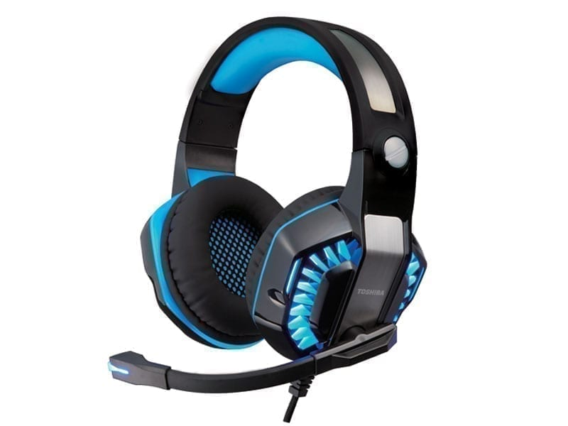 Toshiba Gaming Headset with Carry Case 2