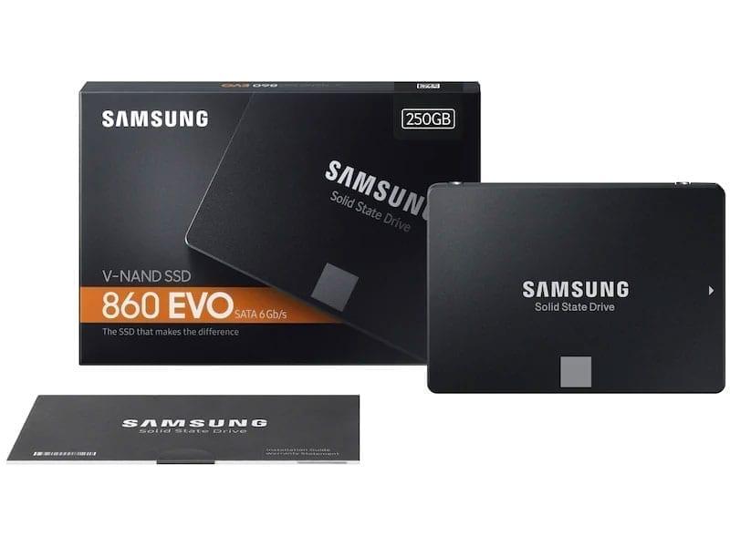 قرص صلب سامسونج إيفو ساتا SSD EVO 860 SATA III 2.5″ 5