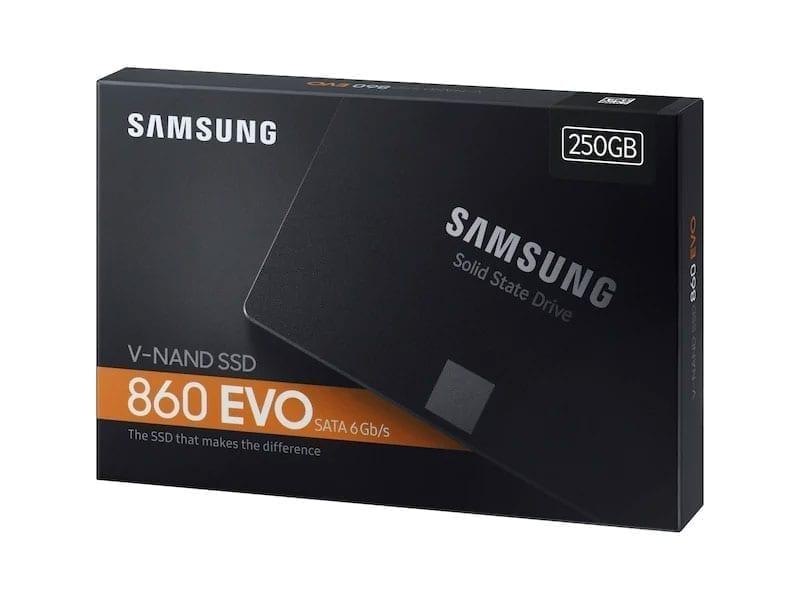 قرص صلب سامسونج إيفو ساتا SSD EVO 860 SATA III 2.5″ 3