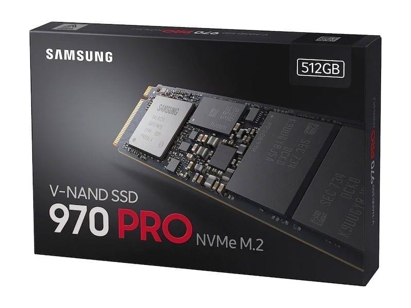 سامسونج اس اس دي 970 Evo Pro قرص صلب SSD M.2 6
