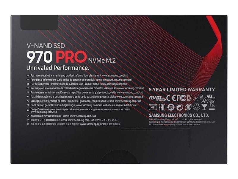 سامسونج اس اس دي 970 Evo Pro قرص صلب SSD M.2 7