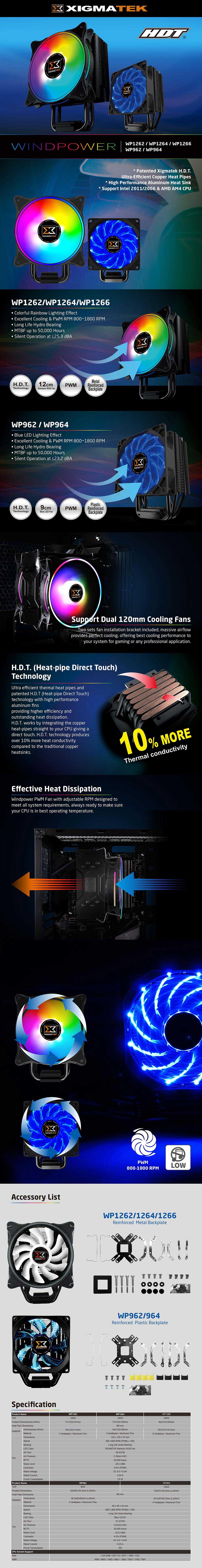 Xigmatek Windpower Series Cooler EN42357 11