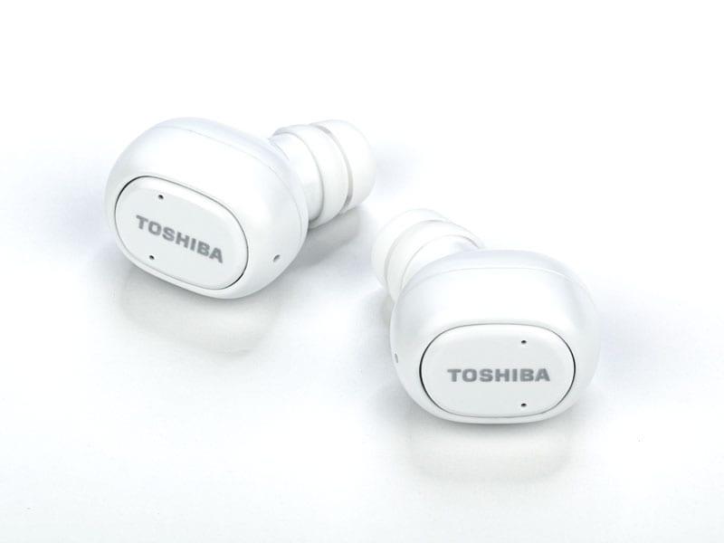 Toshiba True Wireless Bluetooth Earbuds with Dual Mics RZE-BT800E 4