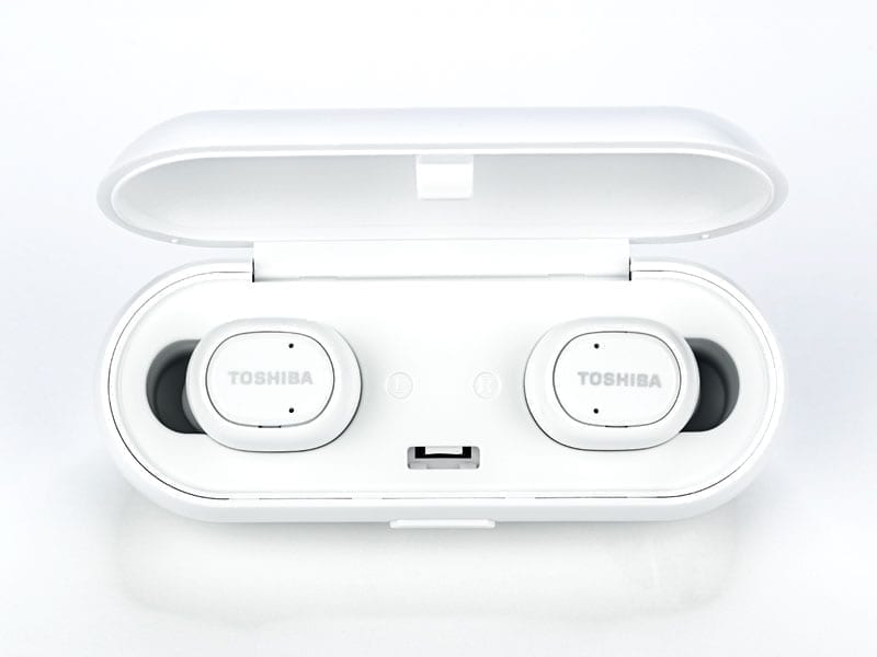 Toshiba True Wireless Bluetooth Earbuds with Dual Mics RZE-BT800E 5