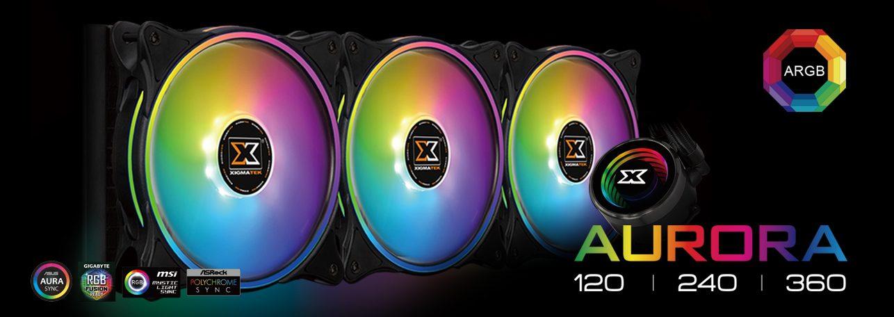 Xigmatek Aurora 240 Cooler EN42807 7