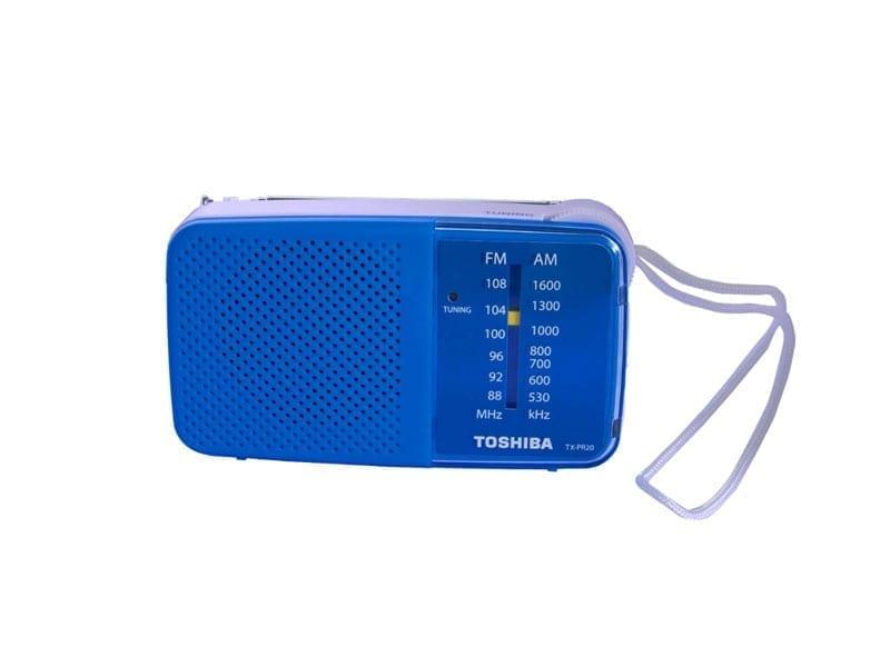 Toshiba Pocket Radio TX-PR20 4
