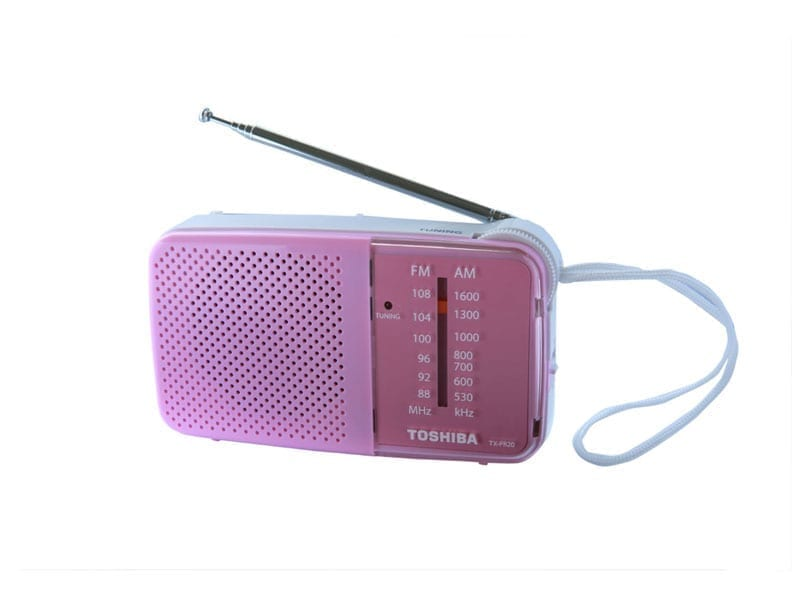 Toshiba Pocket Radio TX-PR20 8