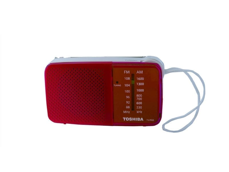 Toshiba Pocket Radio TX-PR20 9