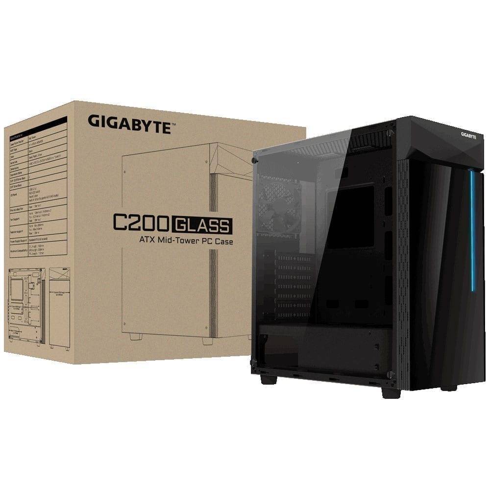 Gigabyte C200 Glass Casing 4