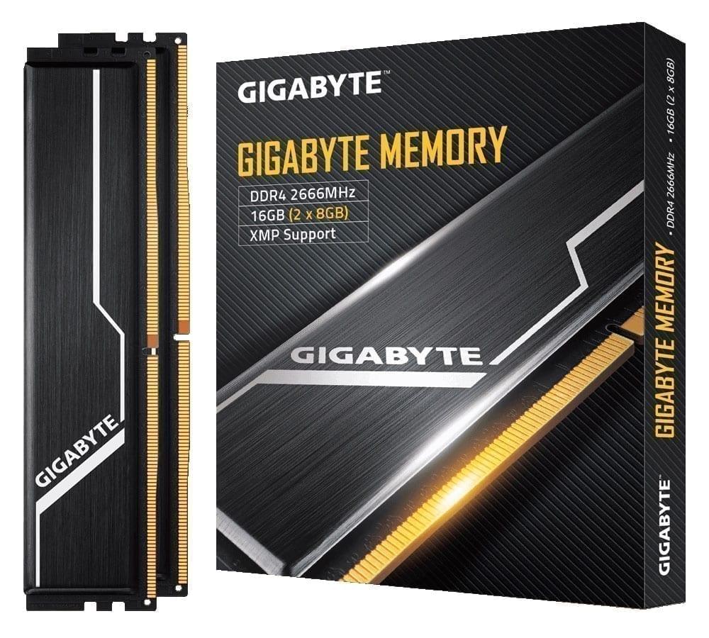 ذاكرة عشوائية رام قيقابايتDDR4 16GB قطعتين (2x8GB) تردد 2666MHz 1