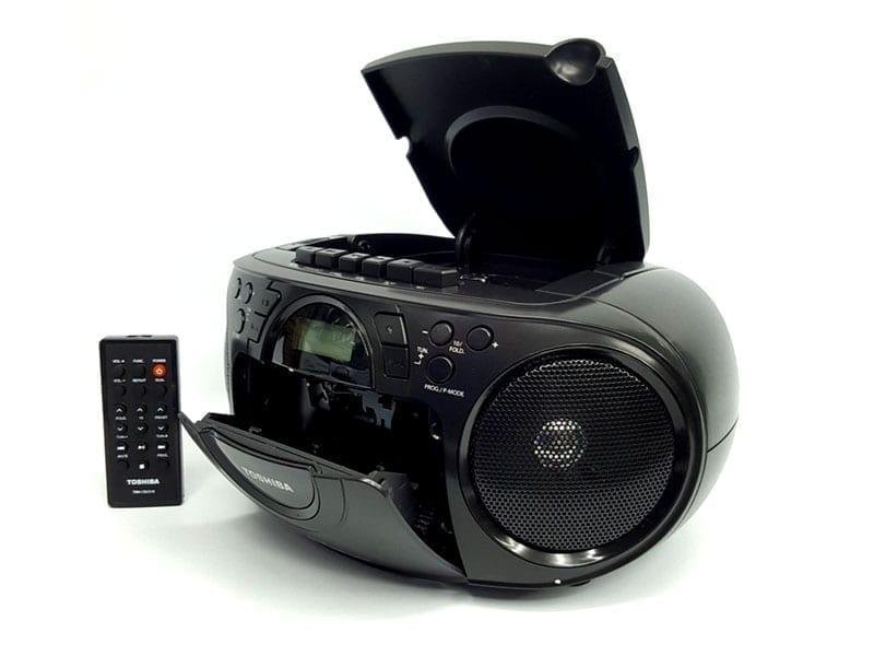 Toshiba Portable CD USB Radio Cassette Recorder TY-CKU310 2
