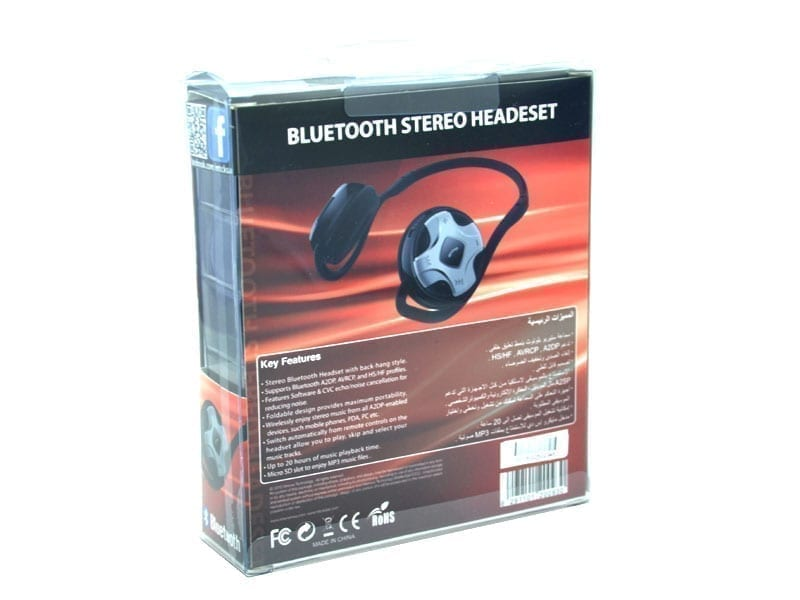Xtreme XTM-1250 Bluetooth Stereo Headset with Mic & Built-in Micro SD Card Slot 3