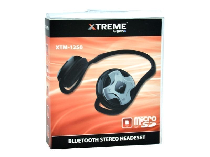 Xtreme XTM-1250 Bluetooth Stereo Headset with Mic & Built-in Micro SD Card Slot 4