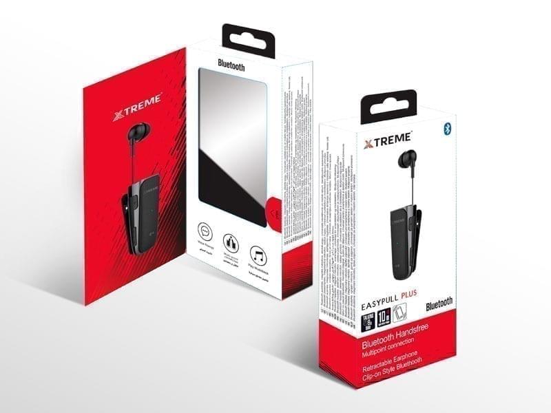 Xtreme EasyPull Plus Bluetooth Earphone 4