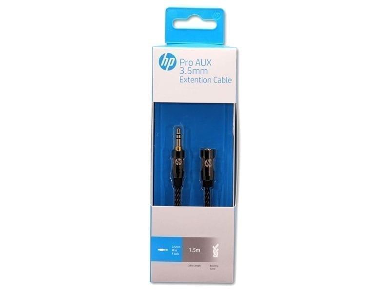 HP AUX 3.5mm Extension Cable - Black 2