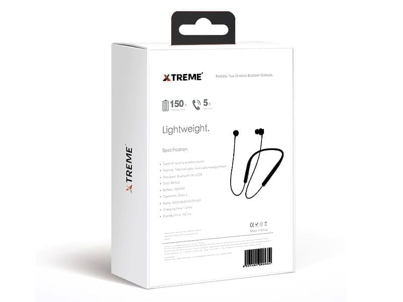 Xtreme Portable True Wireless Bluetooth Earbuds OLA Black 6