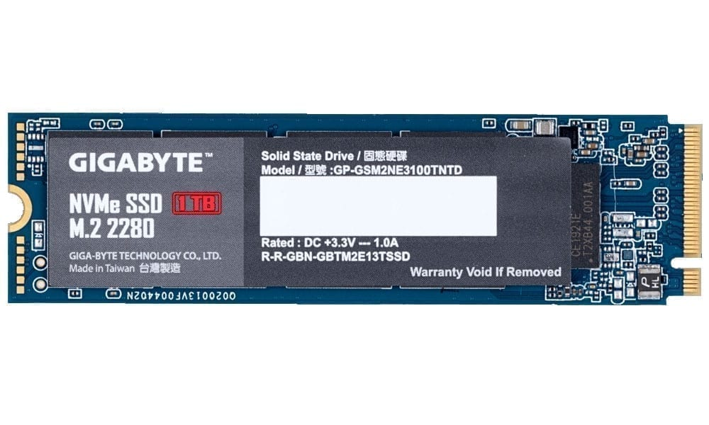 Gigabyte NVMe SSD 1TB 2