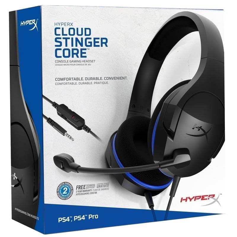HyperX Cloud Stinger Core Gaming Headset - HX-HSCSC-BK 6