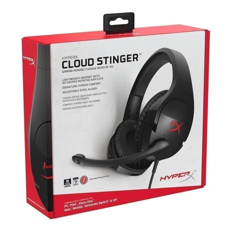 HyperX Cloud Stinger - Gaming Headset (Black) 9