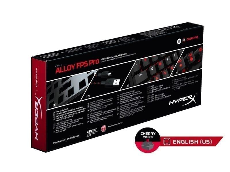 HyperX Alloy FPS Pro Mechanical Gaming Keyboard 4