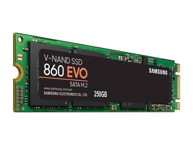 Samsung 860 EVO SATA M.2 SSD 250GB 1