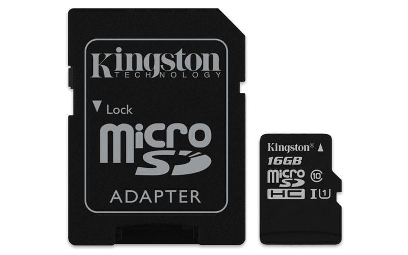 Kingston Canvas Select™ microSD Card 1