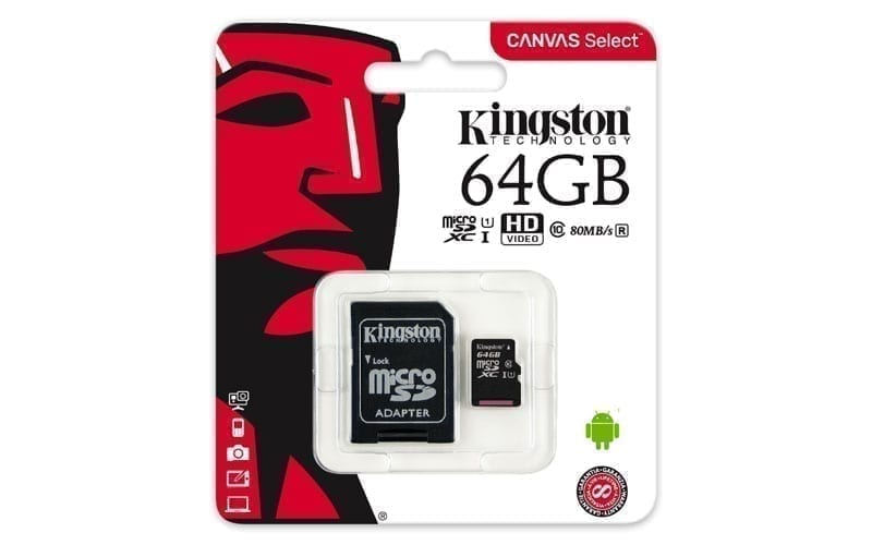 Kingston Canvas Select™ microSD Card 6