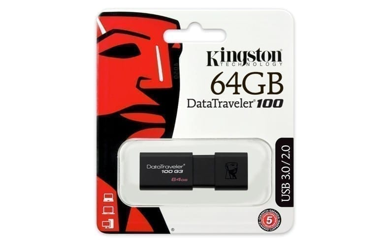 Kingston DataTraveler 100 G3 USB 3.0 5