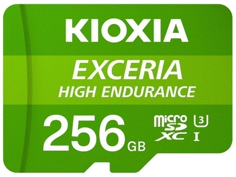 KIOXIA microSD HIGH ENDURANCE 12
