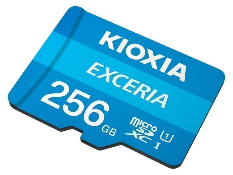 KIOXIA microSD EXCERIA 20