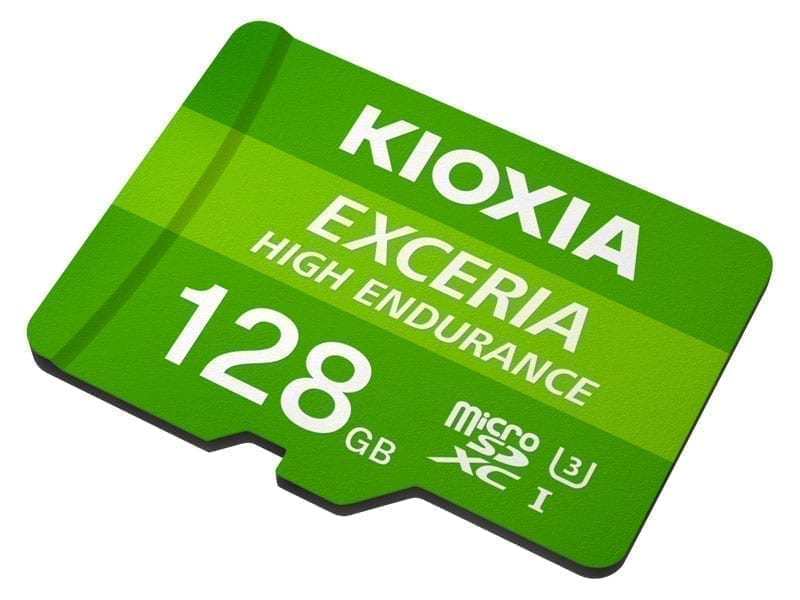 KIOXIA microSD HIGH ENDURANCE 9