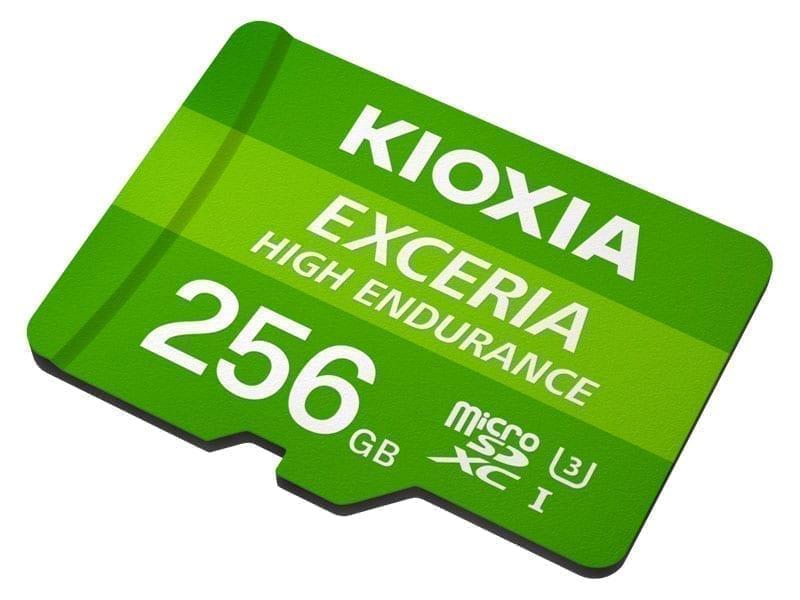 KIOXIA microSD HIGH ENDURANCE 13