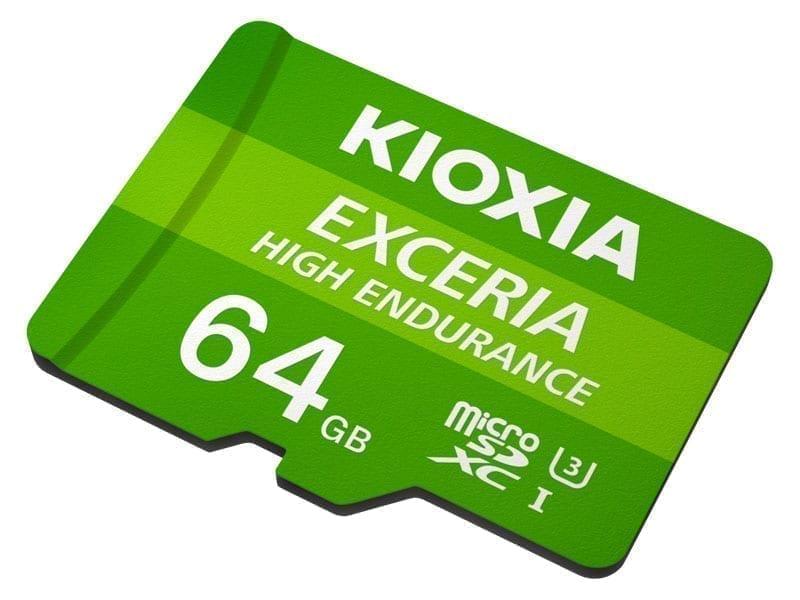 KIOXIA microSD HIGH ENDURANCE 5
