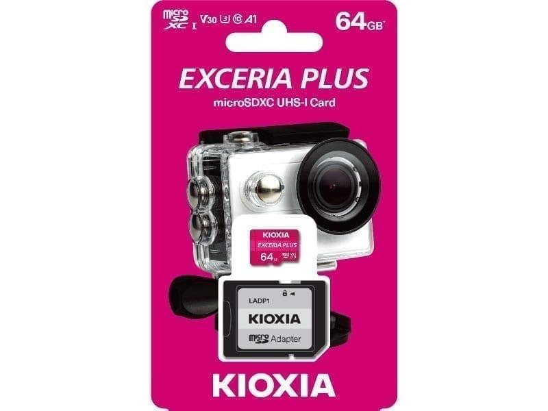 KIOXIA microSD EXCERIA PLUS 5