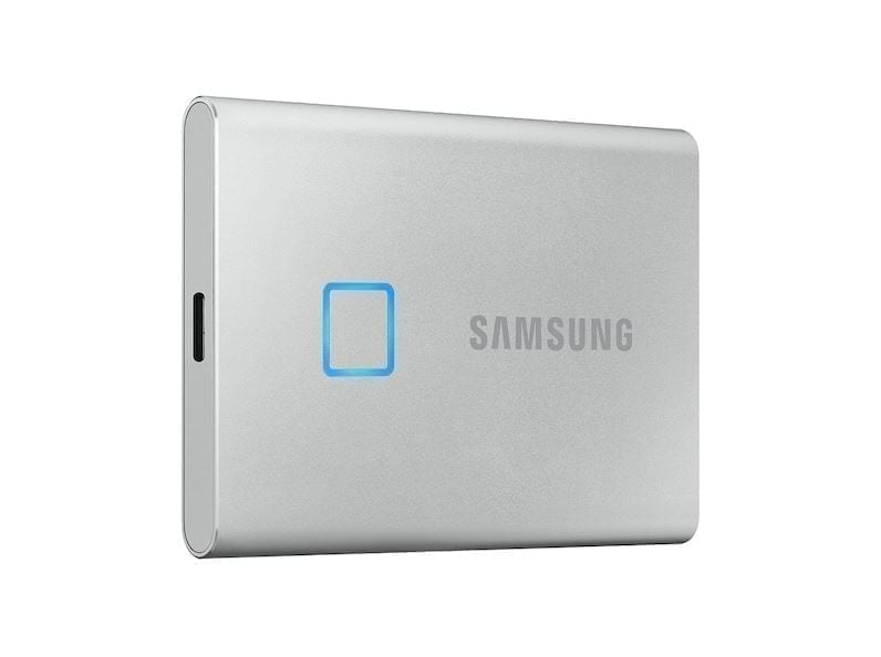 Samsung Portable External SSD T7 TOUCH USB 3.2, Silver and Black 12