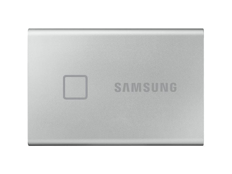 Samsung Portable External SSD T7 TOUCH USB 3.2, Silver and Black 5