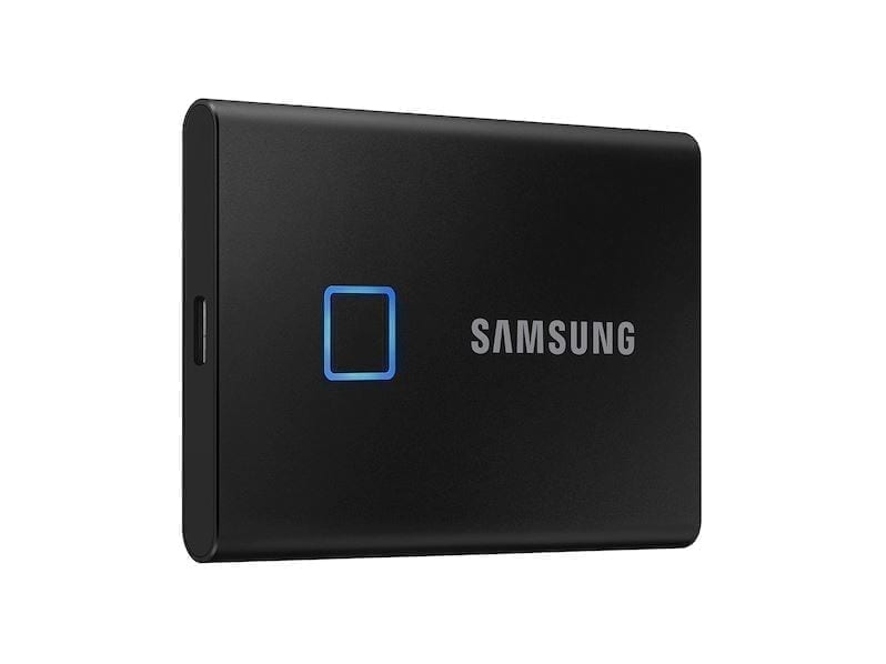 Samsung Portable External SSD T7 TOUCH USB 3.2, Silver and Black 1