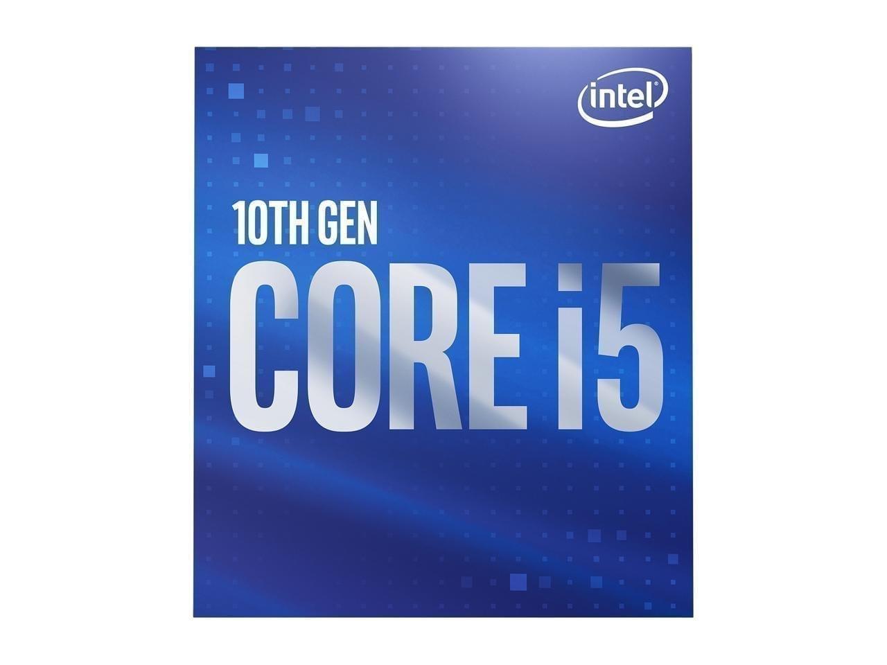 Intel Core i5-10400 Comet Lake 6-Core 2.9 GHz LGA 1200 65W BX8070110400 Desktop Processor Intel UHD Graphics 630 8