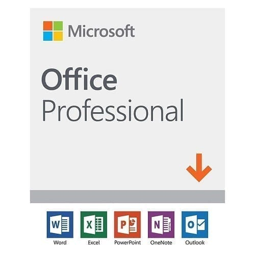 Microsoft Office Professional 2019 License 1 PC (Delivery by Email) 269-17074 1
