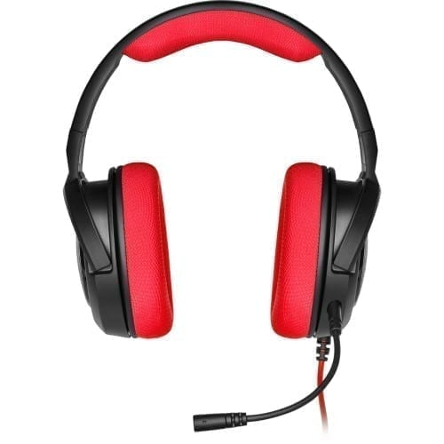 Corsair HS35 Stereo Gaming Headset — Red - CA-9011198-NA 5