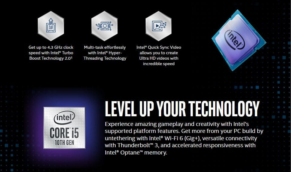 Intel Core i5-10400 Comet Lake 6-Core 2.9 GHz LGA 1200 65W BX8070110400 Desktop Processor Intel UHD Graphics 630 11