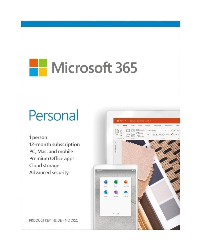 Microsoft 365 Personal All Languages Subscription 1YR - Product Key (Delivery by Email) - QQ2-00005 2