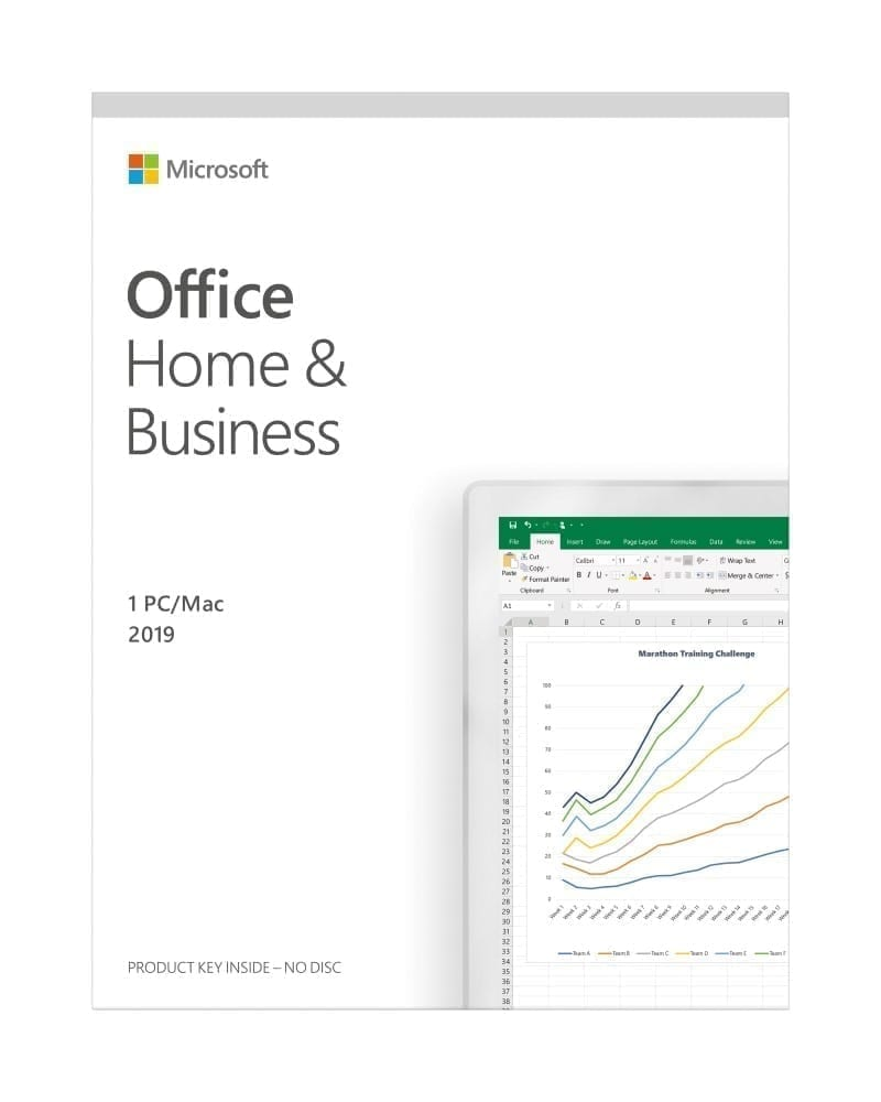 Microsoft Office Home & Business 2019 (English or Arabic) 2