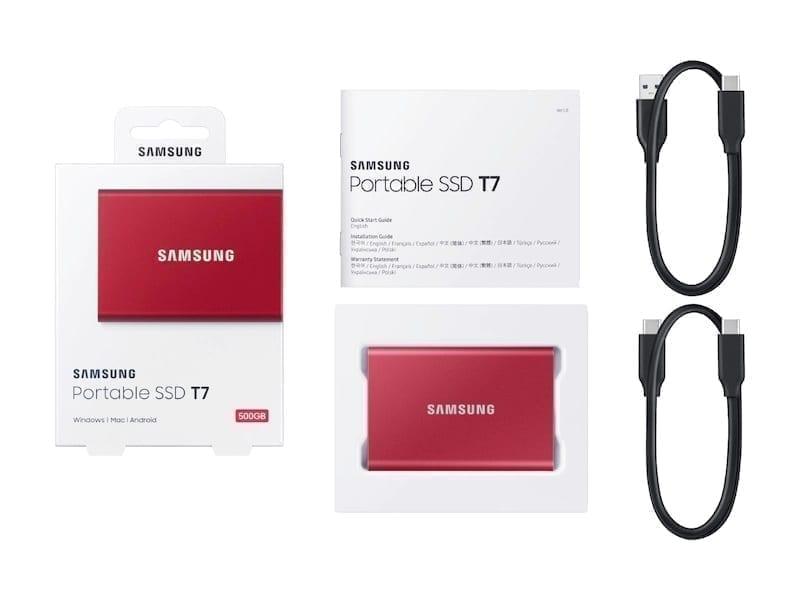 Samsung External SSD T7 16