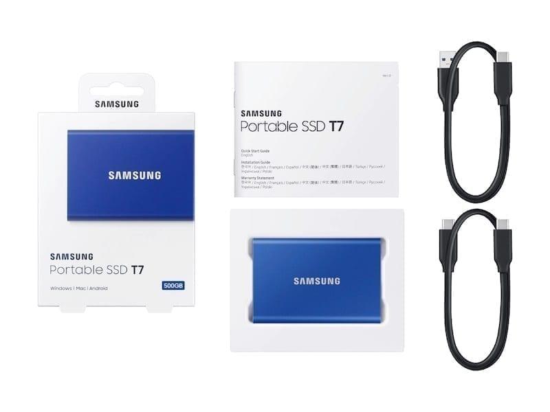 Samsung External SSD T7 18