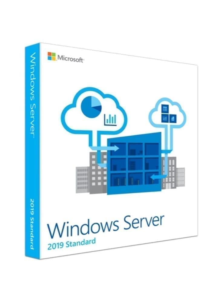 Microsoft Windows Server 2019 Standard - Base License and Media - 16 Core - P73-07788 1