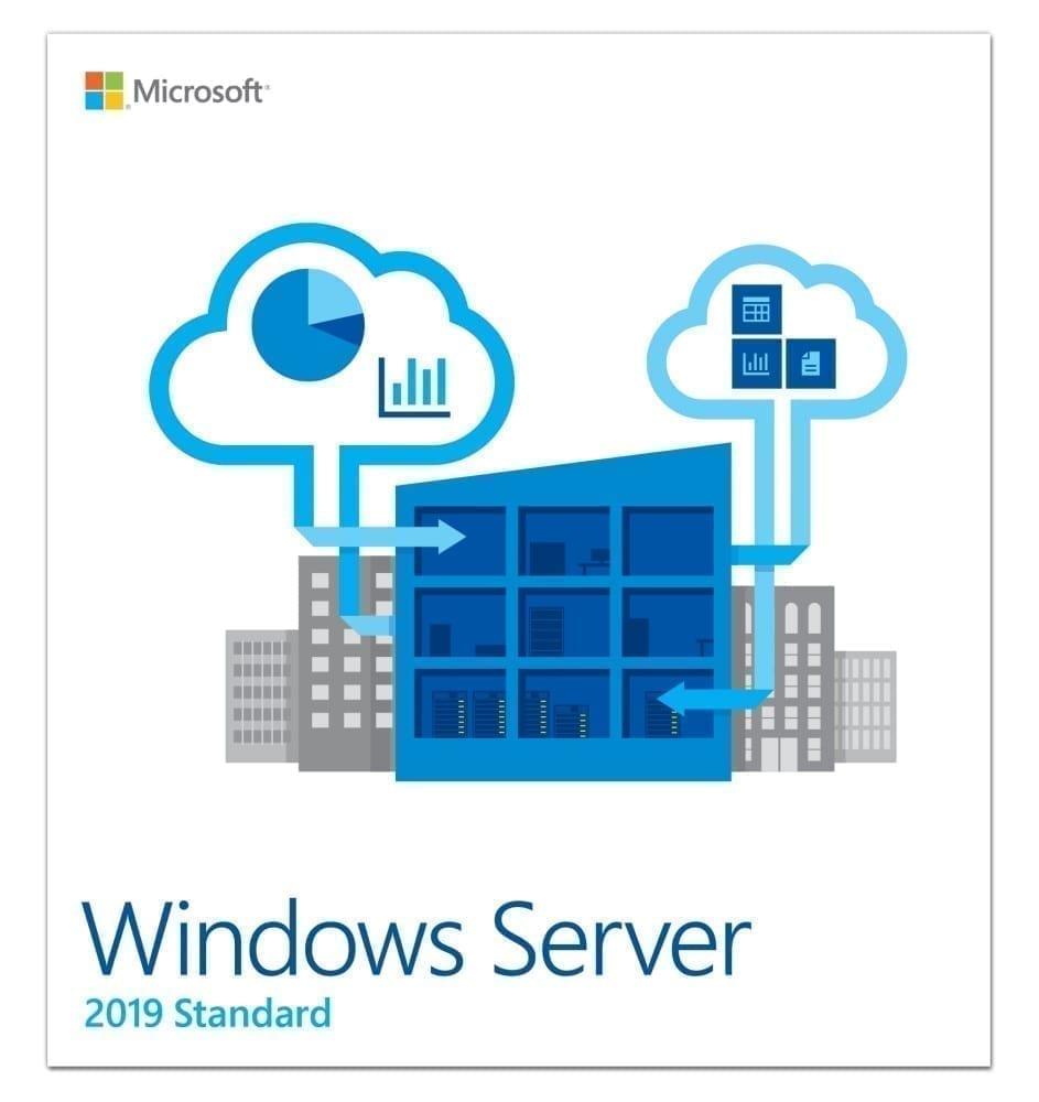 Microsoft Windows Server 2019 Standard - Base License and Media - 16 Core - P73-07788 2