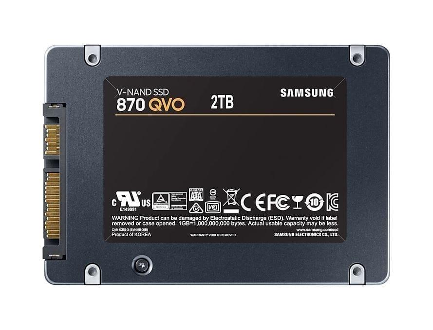 Samsung SSD 870 QVO SATA III 2.5 inch 5