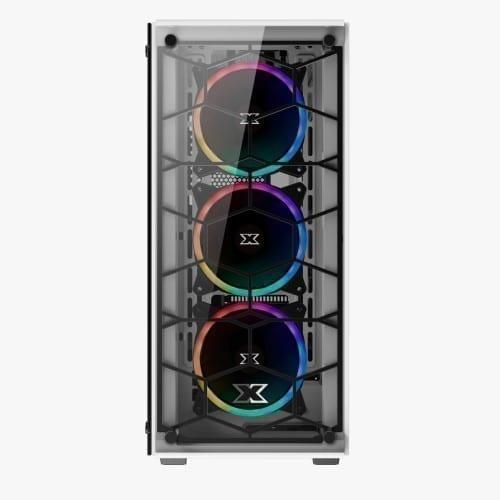 Xigmatek Venom X Arctic RGB Tempered Glass - EN45785 2