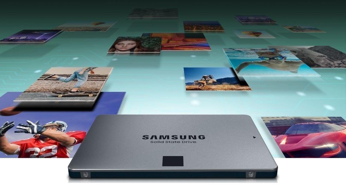 Samsung SSD 870 QVO SATA III 2.5 inch 8